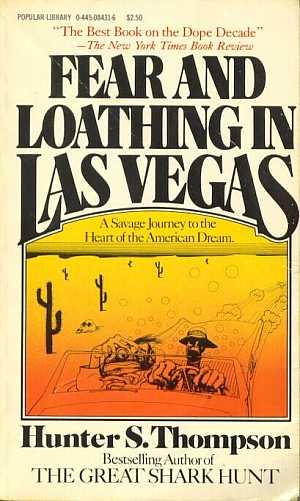 Fear & Loathing in Las Vegas book cover