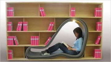 Bookshelf pod