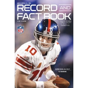 NFL Record And Fact Book 2012 book cover
