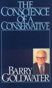 Barry Goldwater Conscience of a Conservative book cover