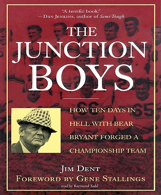 Junction Boys - Bear Bryant - book cover