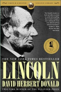 Lincoln by David Herbert Donald book cover