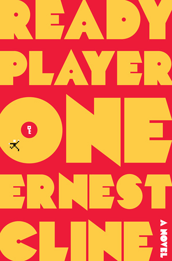 Cover of Ready Player One novel by Ernest Cline