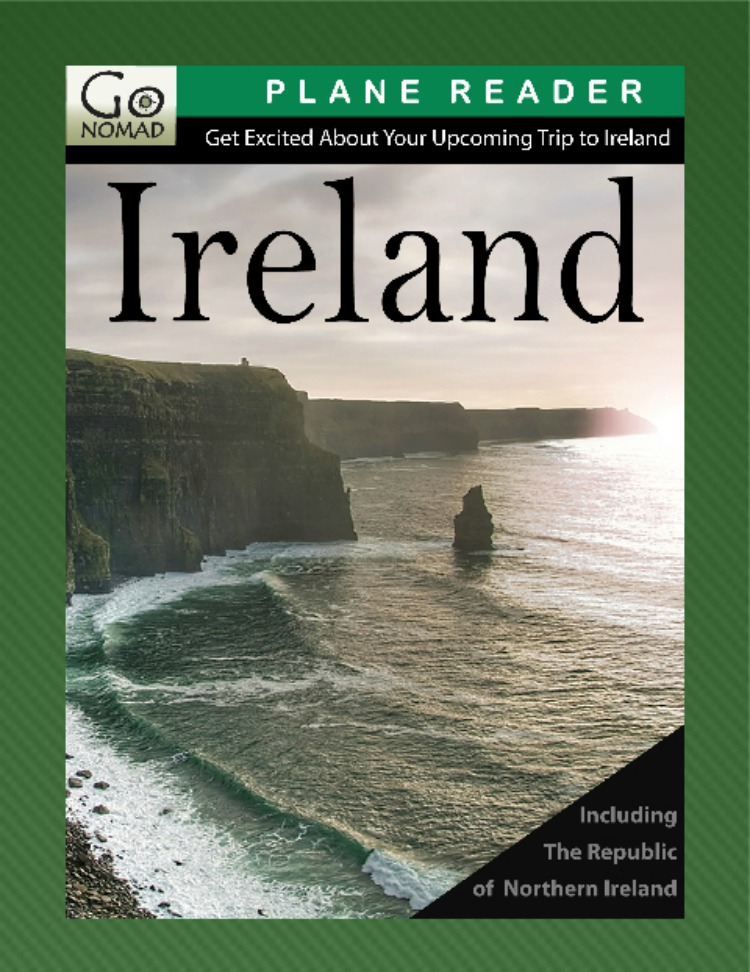 Ireland Plane Reader travel guide