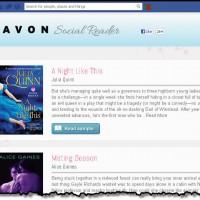 Avon Social Reader app pic