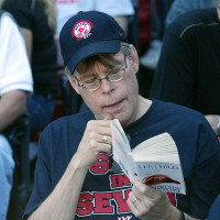 Stephen King reading Lee Child